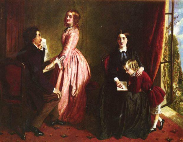 the governess by rebecca solomon 1851 e1518469827502