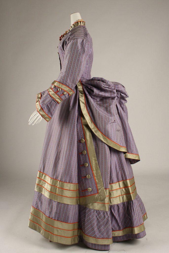 1872 1875 silk dress via met museum