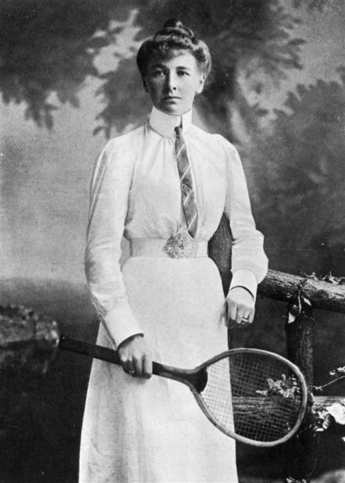 english tennis champion charlotte cooper 1900