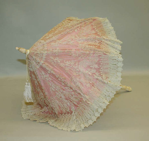 late 19th century french parasol via met museum 1