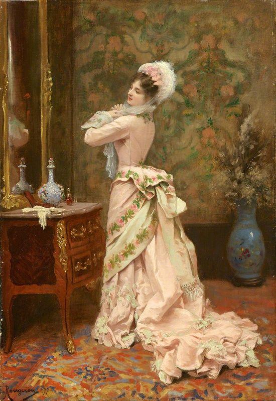 toilette by jules james rougeron 1877