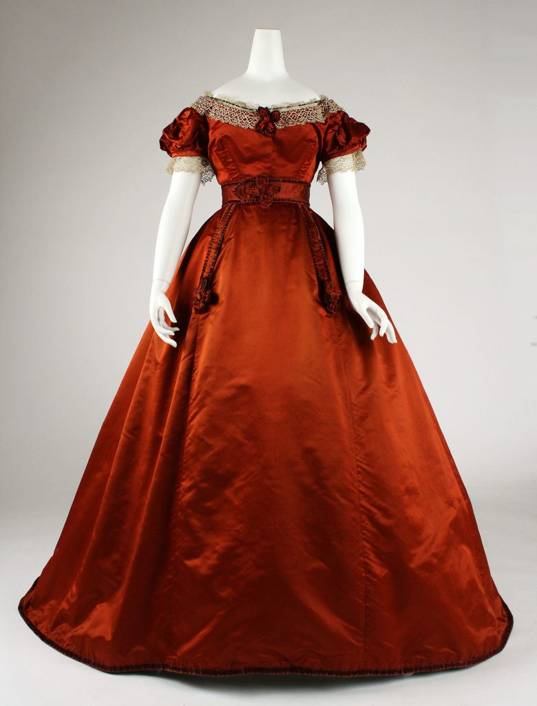 Shades Of Victorian Fashion Crimson Claret Scarlet And