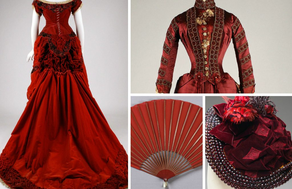 Shades Of Victorian Fashion Crimson Claret Scarlet And Red Author Mimi Matthews
