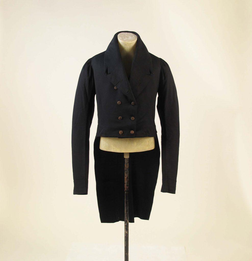 1815 british wool tailcoat via met museum