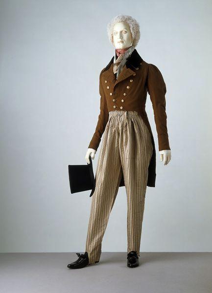 1820 1830 cossack trousers via victoria and albert museum