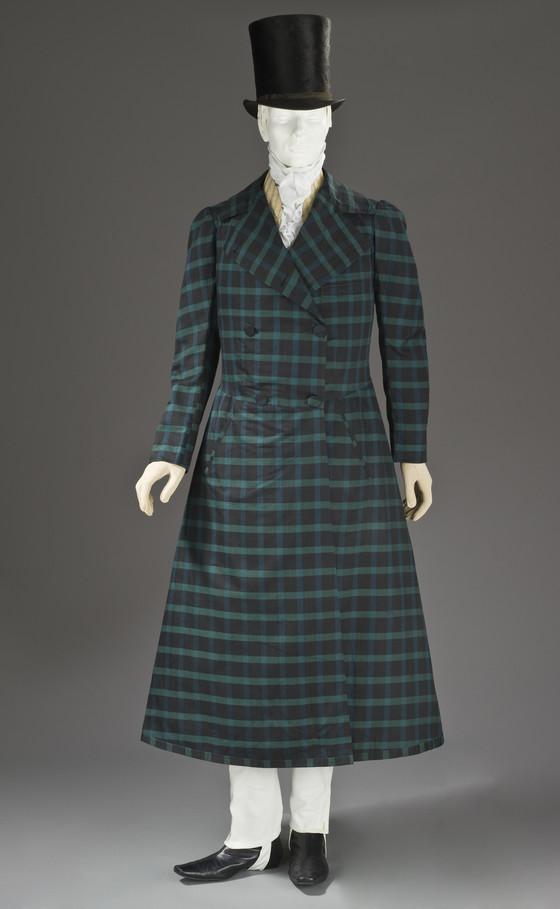 1820 frock coat via lacma