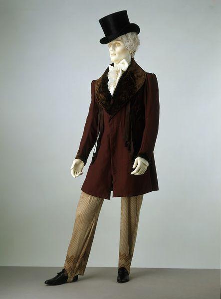 1828 1830 frock coat via victoria and albert museum