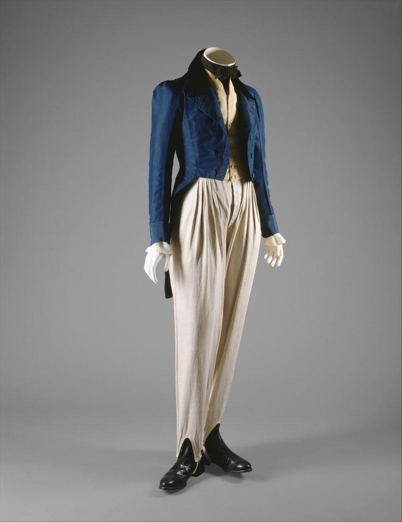 1833 coat via met museum
