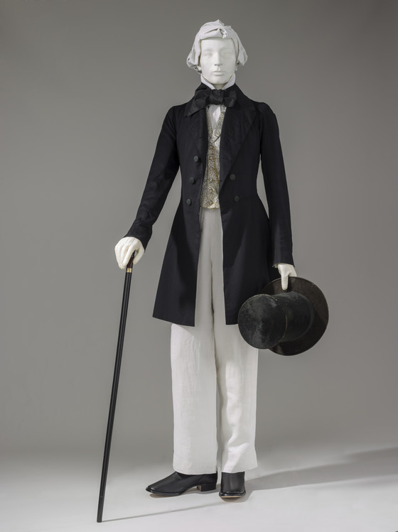 1852 Frock Coat And Trousers LACMA