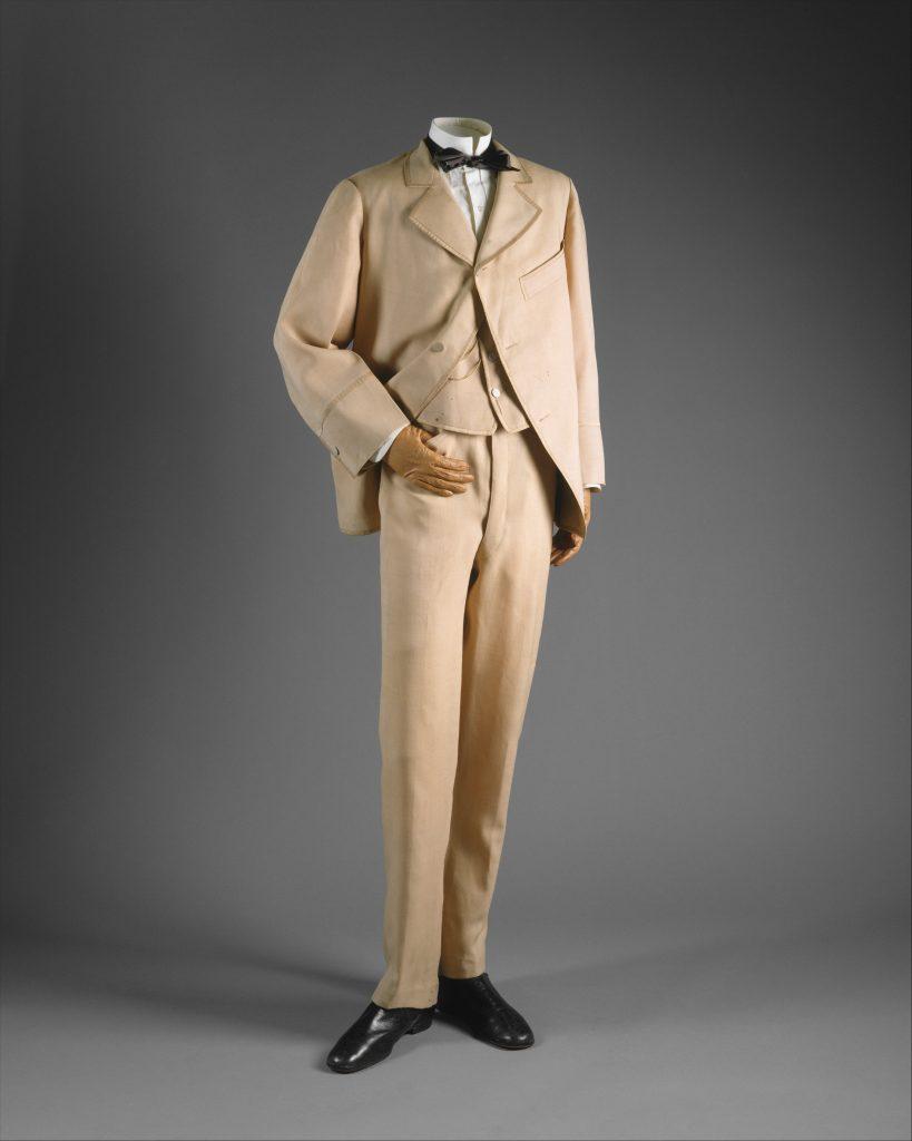 1865 1870 wool suit via met museum