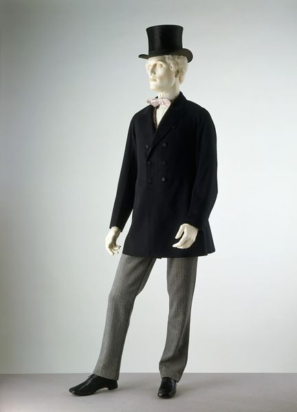 1870 1880 wool twill trousers via victoria and albert museum