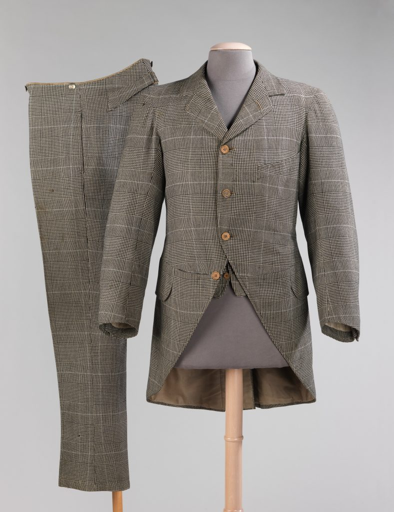 1894 j b johnstone wool morning suit via met museum