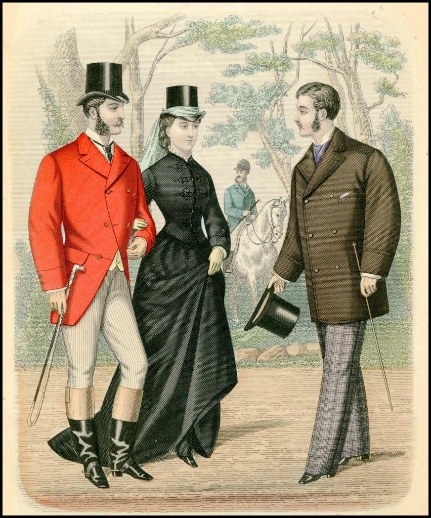gentlemans magazine of fashion 1876