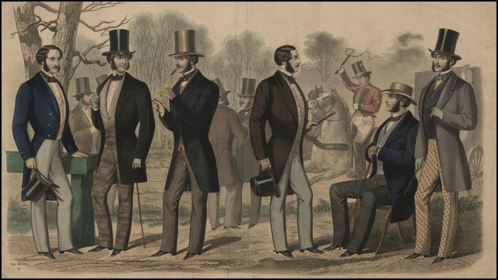 lelegant mens fashion plate 025 1857 via the met