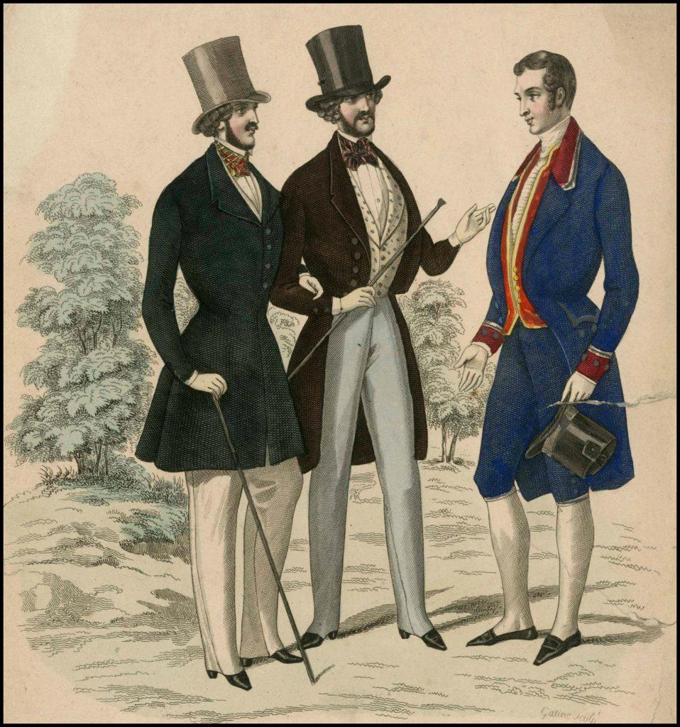 menswear loriflamme des modes 1840