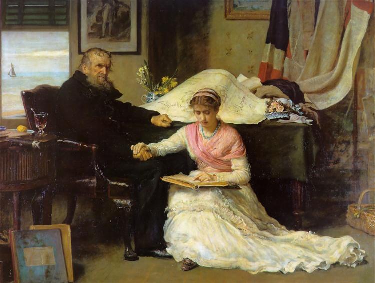 north west passage by john everett millais 1874