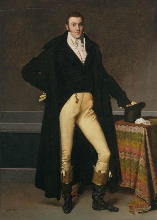 portrait of joseph antoine de nogent by jean auguste dominique ingres 1815 via harvard art museums fogg museum1