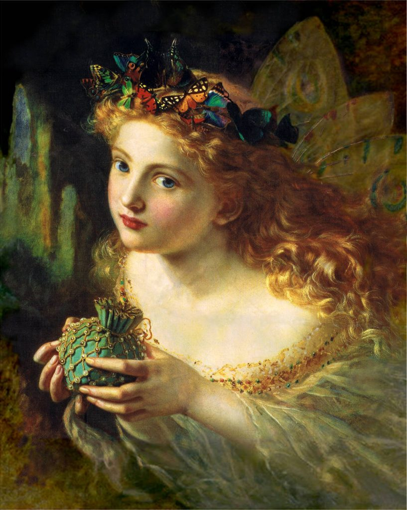 take the fair face of woman and gently suspending with butterflies by sophie gengembre anderson 1823e28093 10 march 1903