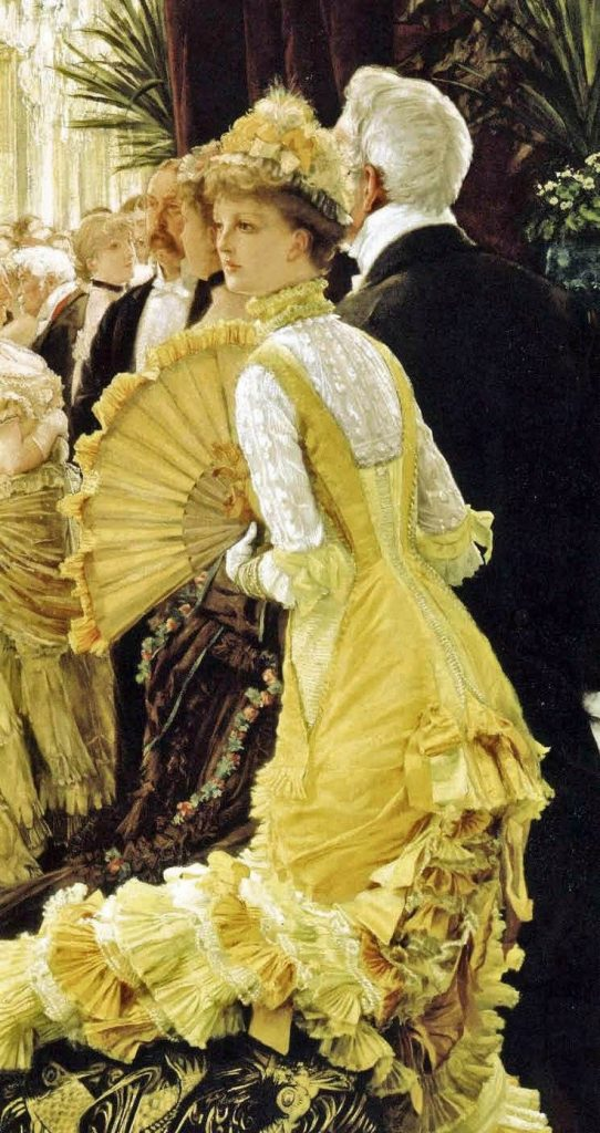 the ball by james tissot 1878