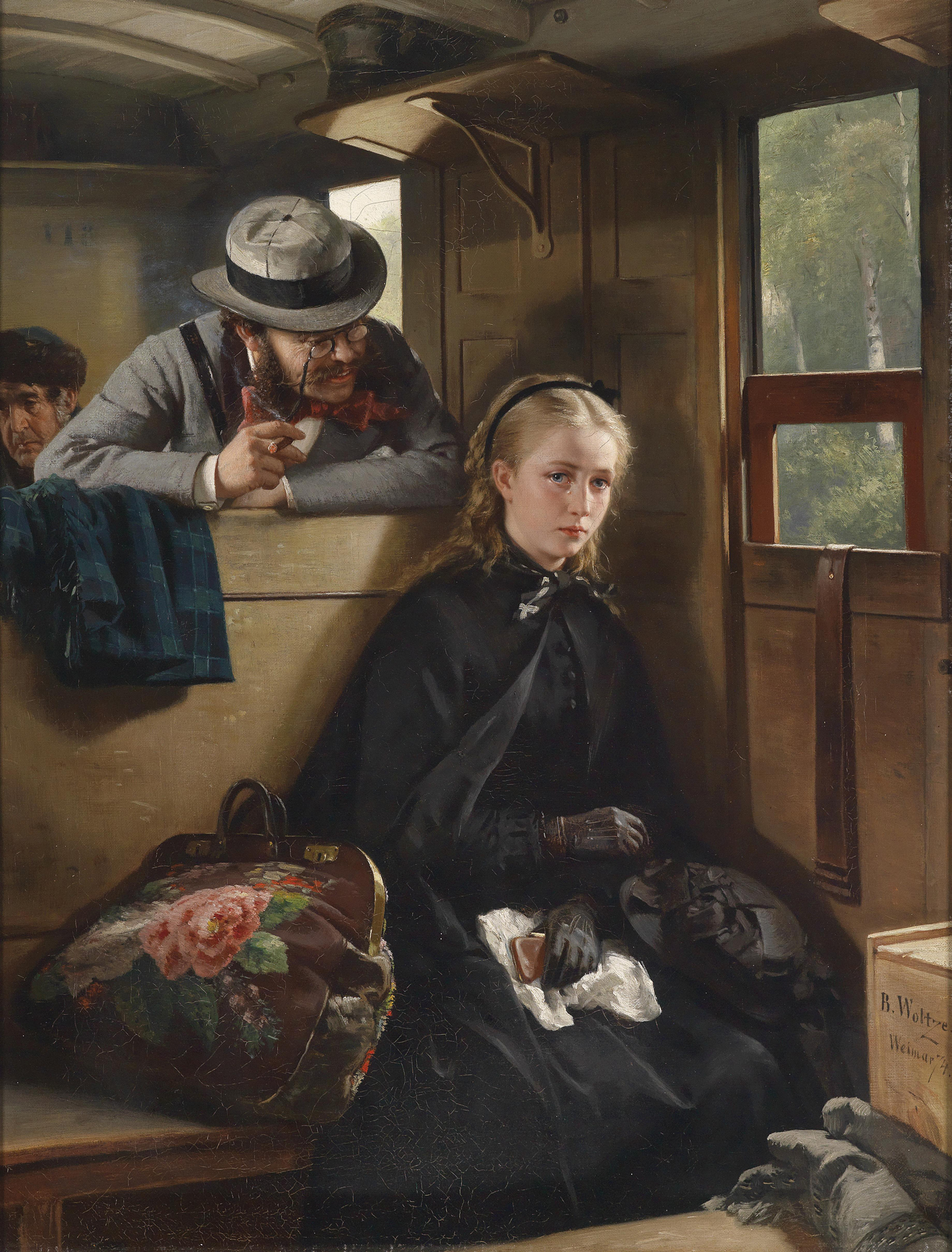 the irritating gentleman by berthold woltze 1874