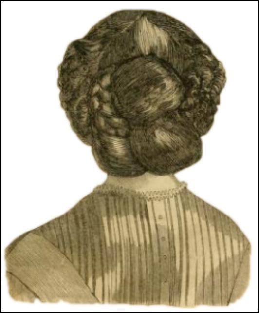 godeys ladys book coiffure april 18631