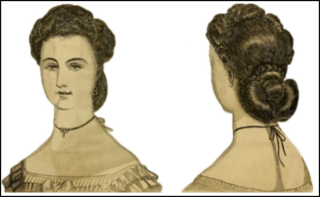 Godey's Lady's Book, April 1863.