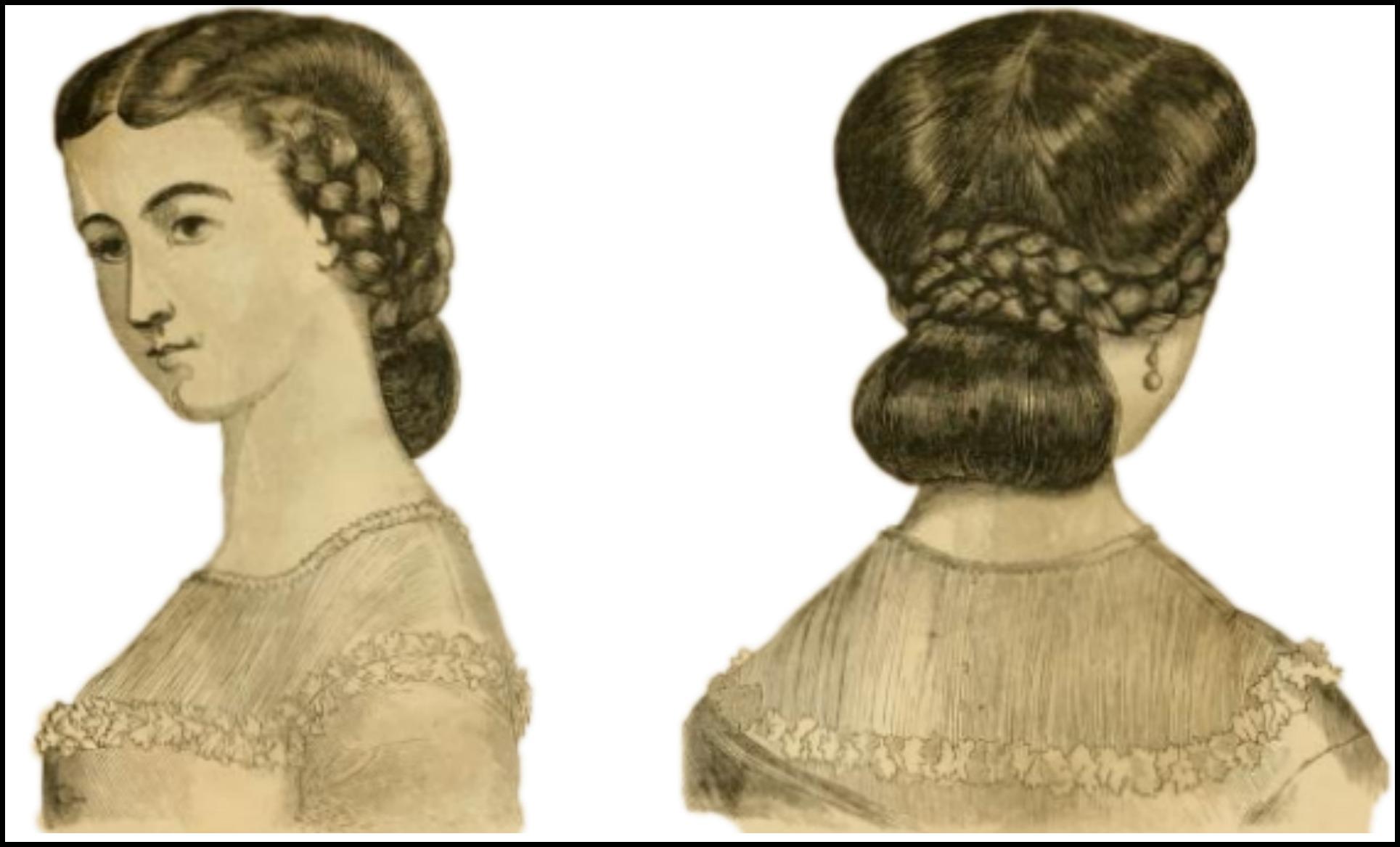 godeys ladys book new coiffures 2 april 18635