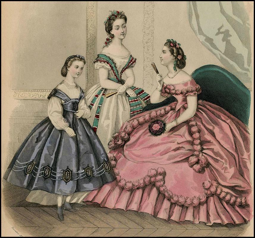 Modes Vraies Musée des Familles, Plate 046, 1863