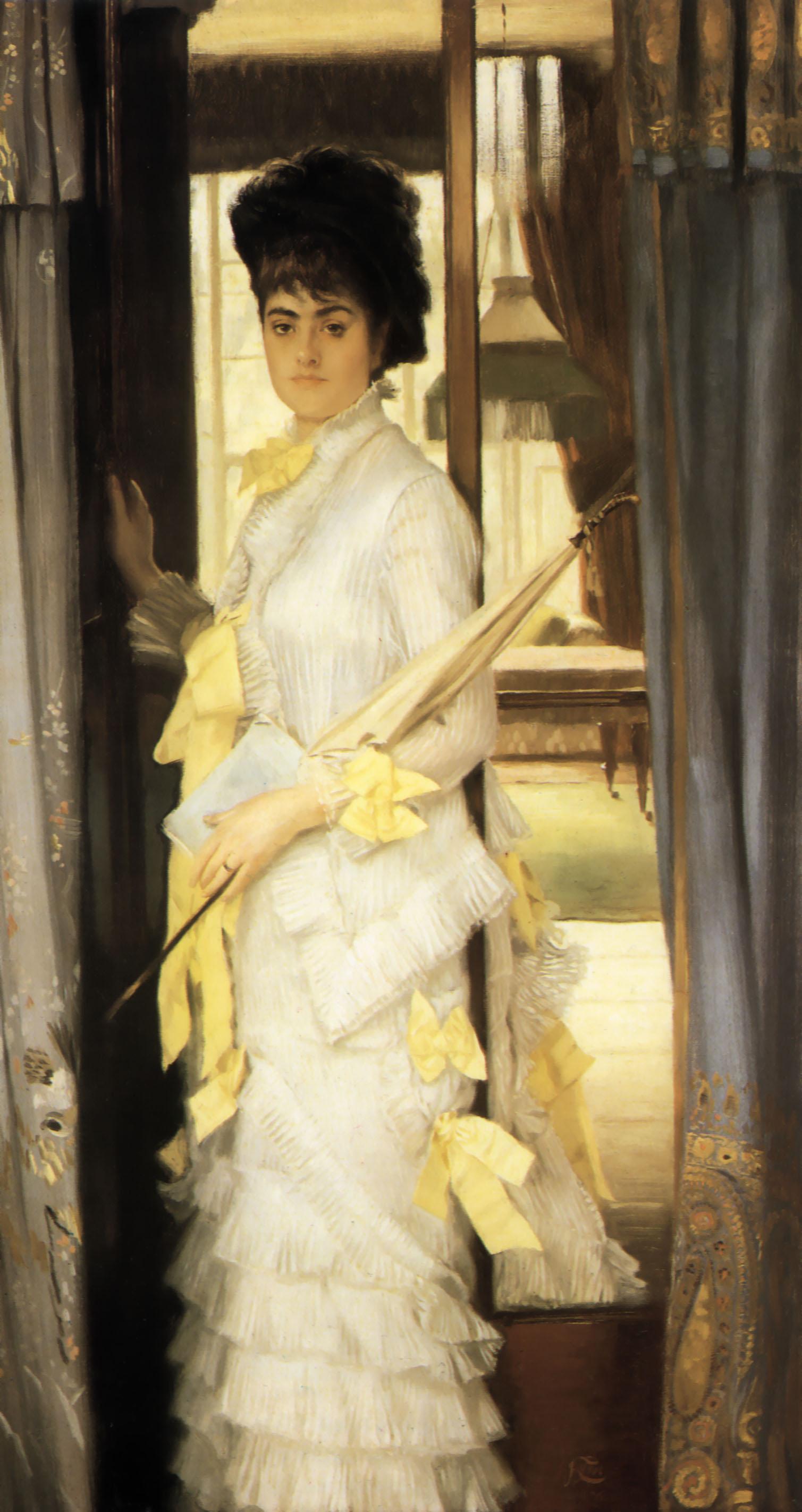 portrait of miss lloyd by james tissot 1876