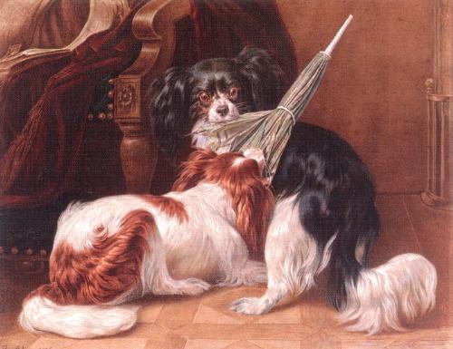 a dispute by benno adam 1812 1892