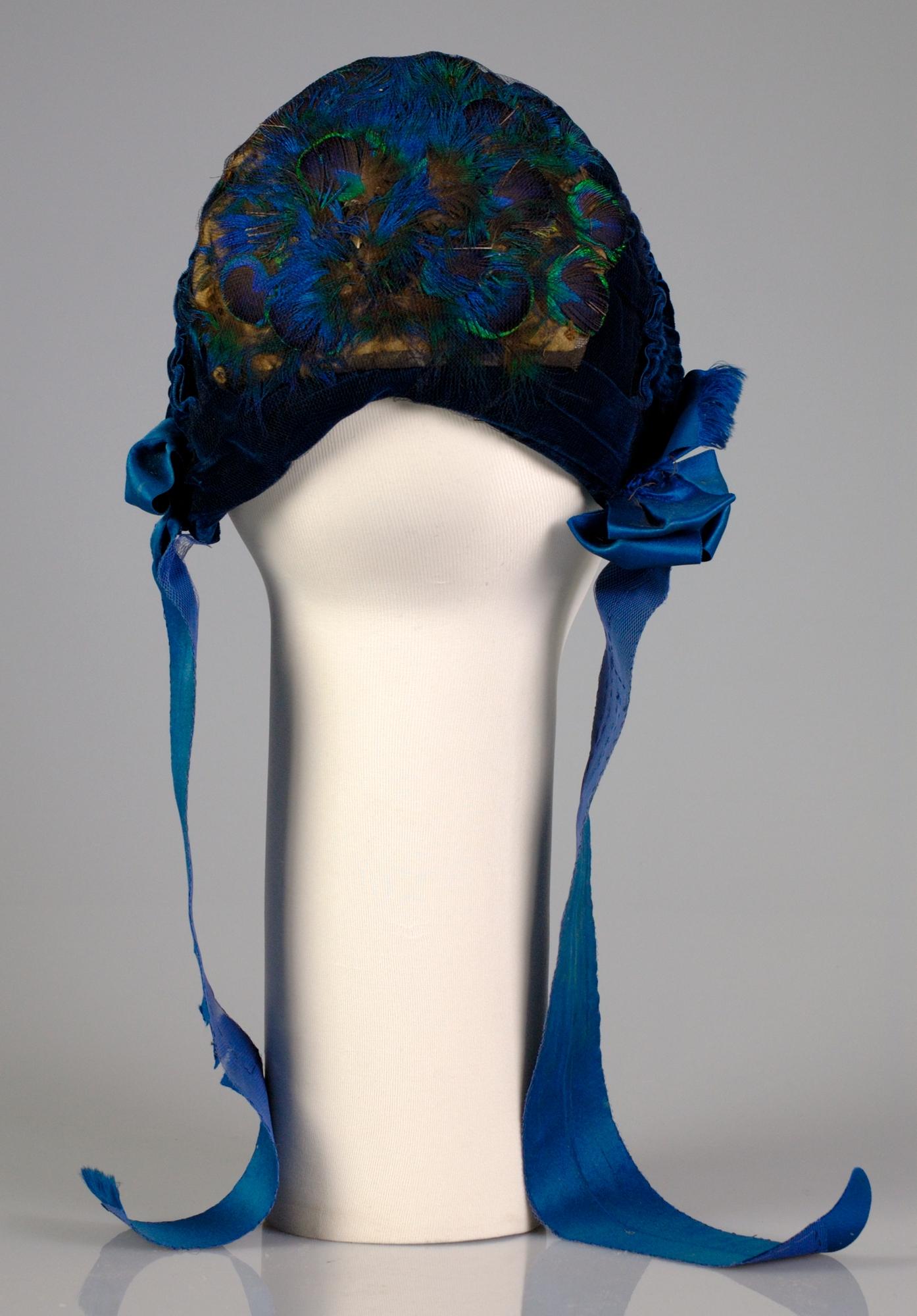1880 evening bonnet 2 via met museum