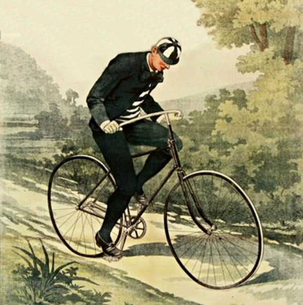 A Victorian Era Criminal Leads Police on a High Speed Bicycle ...