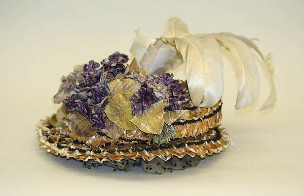 1898 american silk hat via met museum