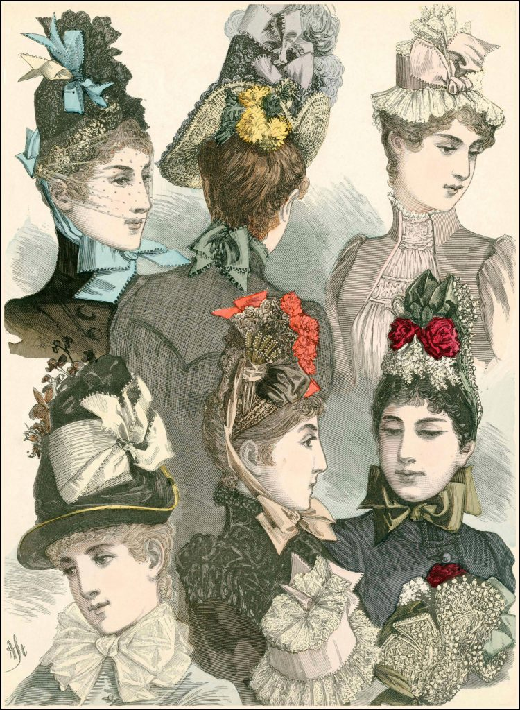 Easter Bonnets of the Late 19th Century | Author Mimi Matthews