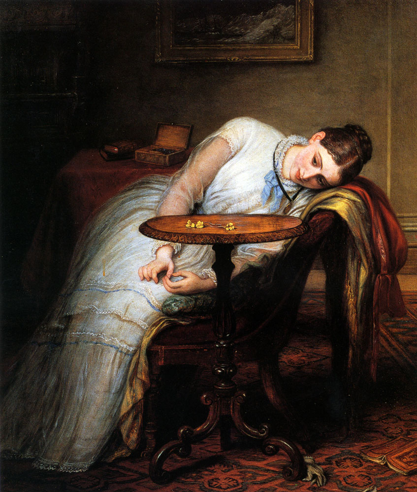 hope deferred and hope and fears that kindle hope by charles west cope n d via touchstones rochdale arts heritage centre uk