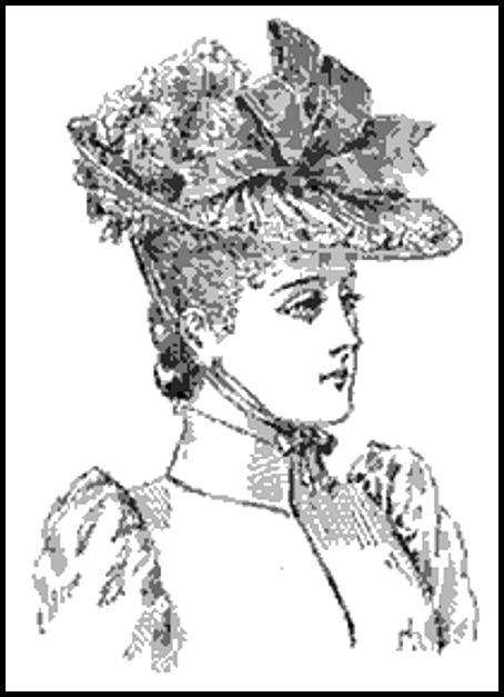lily hat ladies home journal 1889
