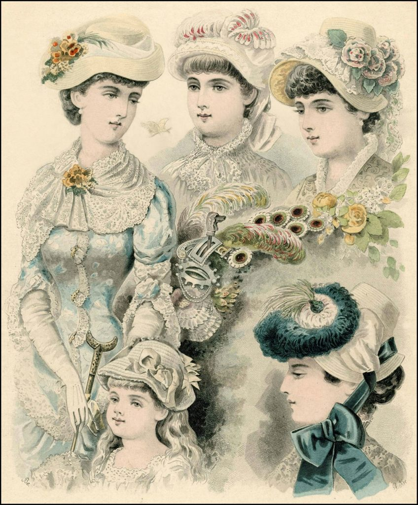 Easter Bonnets of the Late 19th Century  392b70d5f47