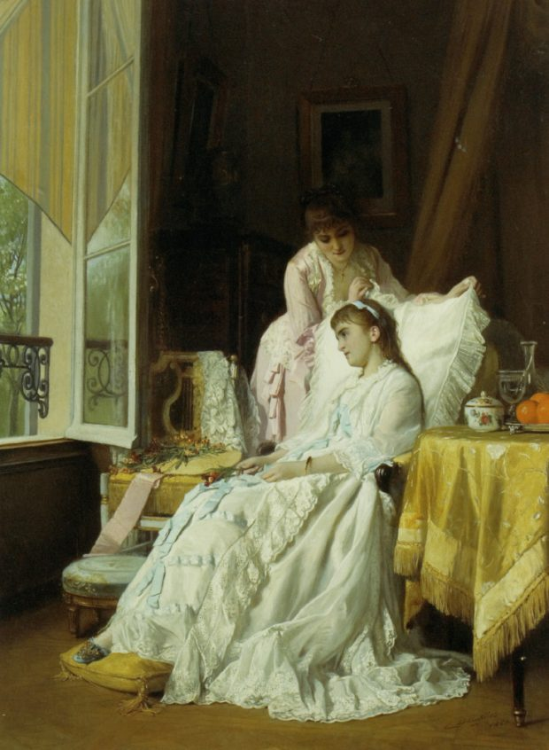 the convalescent by charles baugniet 1880 e1553470550323
