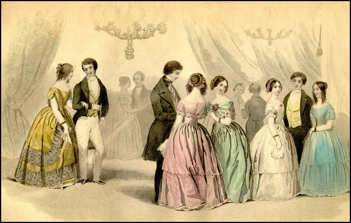 godeys americanised paris fashions 1847 via accessible archives