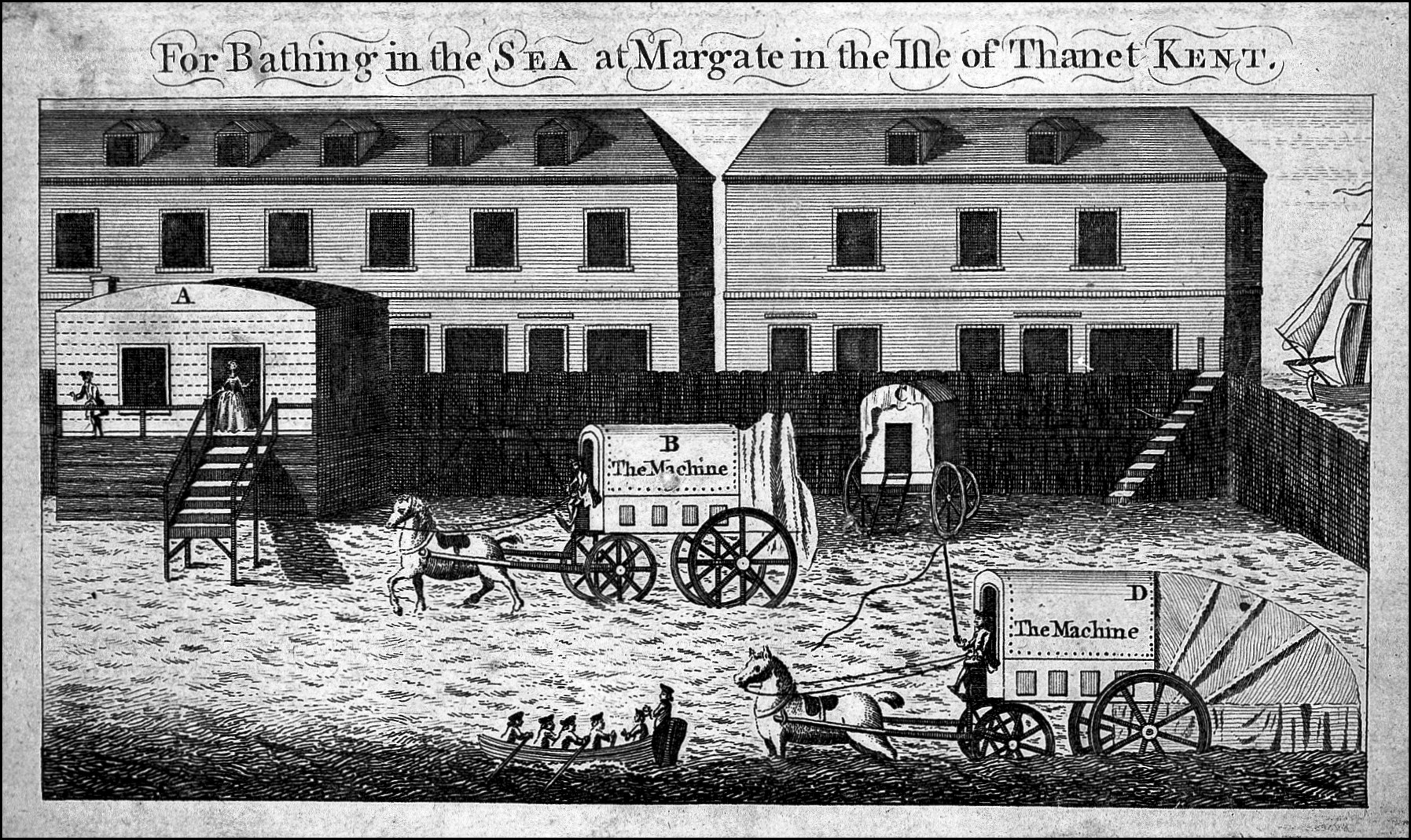 sea bathing at margate via wellcome images