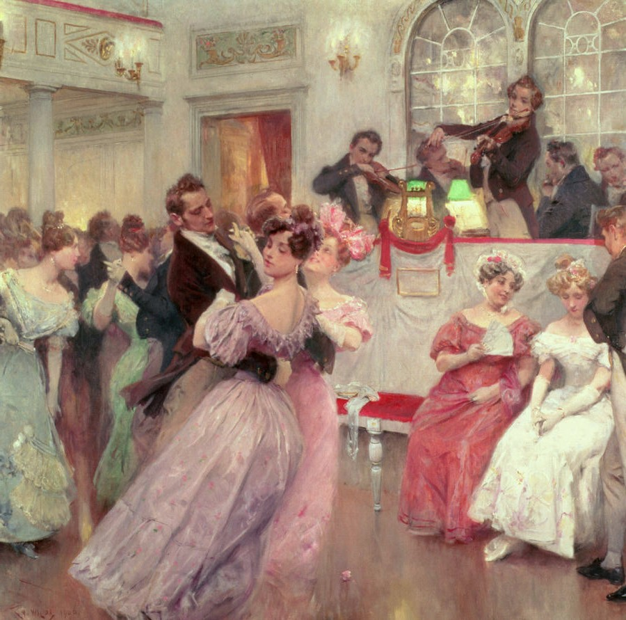 the ball by charles wilda 1906