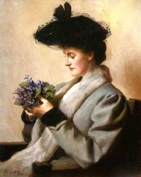 The Nosegay Of Violets by William Worcester Churchill 1858–1926 1905
