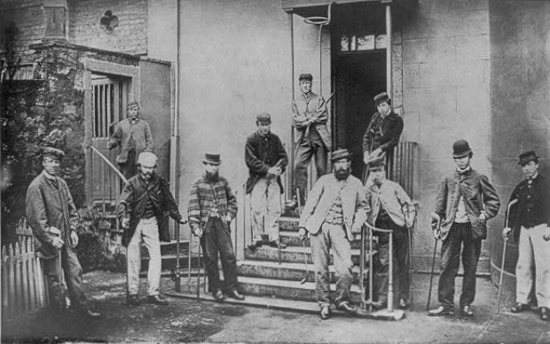 Grand golf tournament by professional players on Leith Links 17th May 1867 Library of Congress 1