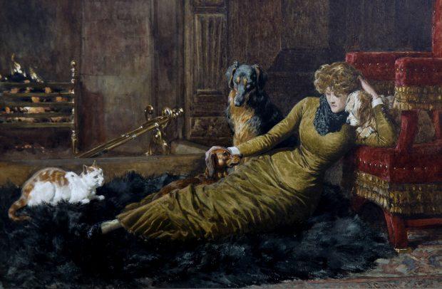 Her Favourites by John Charlton 1881 e1499934548842
