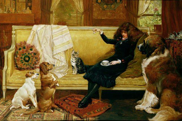 Teatime Treat by John Charlton n.d. e1499937072952