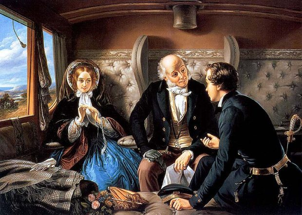 First Class by Abraham Solomon 1855. e1502737045387