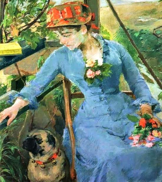 Sous le Berceau by Eva Gonzales 1879 1880 1