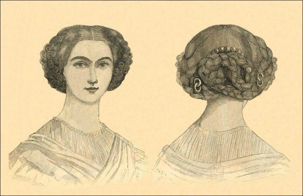 La Coiffure Francaise Godeys 1860 e1508733489503
