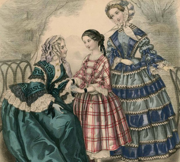 Musee Des Famille Women 1852 Plate 048 via Met Museum e1511744650908