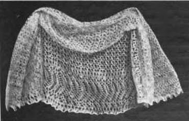 A Knitted Worsted Baby Veil Harpers Bazaar 1904